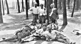 Obrona Narodowa obóz szkoleniowy Wyry. Lipiec 1939. Franciszek widerski z zona Teresa.jpg