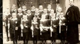 I komunia sw. 1939 Ks Mamzer. Zdjecie ze zbiorow Lidii Borowian-Cyby