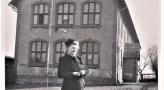 Nowa szkoła Wyry 1940. Zdjęcie ze zbiorów portalu fotopolska.eu