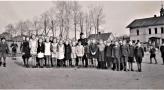 Szkoła Wyry 1940. Zdjęcie ze zbiorów portalu fotopolska.eu